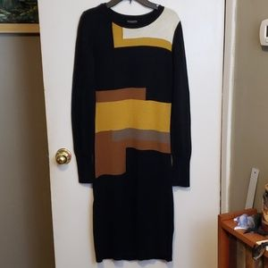 Vince Camuto color block  Sweater dress